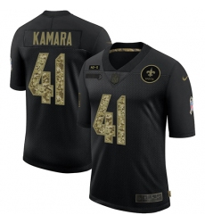 Men's New Orleans Saints #41 Alvin Kamara Camo 2020 Salute To Service Limited Jersey