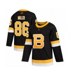 Men's Boston Bruins #86 Kevan Miller Authentic Black Alternate Hockey Jersey
