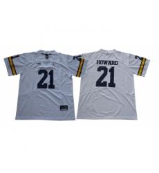 Michigan Wolverines 21 Desmond Howard White College Football Jersey