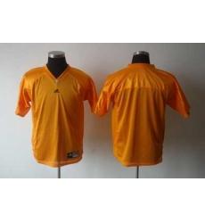 NCAA Tennessee vols blank orange jersey