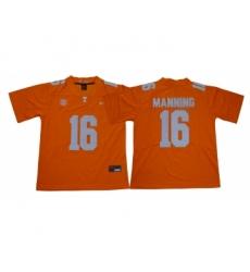 Tennessee Volunteers 16 Peyton Manning Orange Nike College Football Jersey