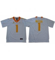 Vols #1 Jason Witten White Limited Stitched NCAA Jersey