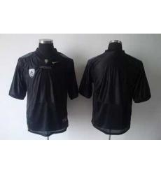 Ducks Blank Black Embroidered NCAA Jersey