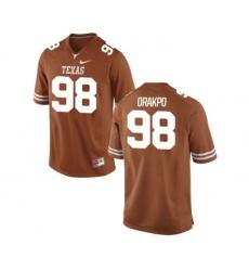 Texas Longhorns 98 Brian Orakpo Orange Nike College Jersey