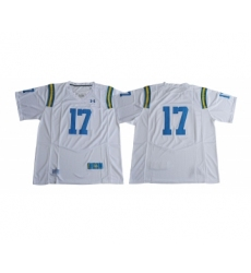 UCLA Bruins 17 Brett Hundley White College Football Jersey