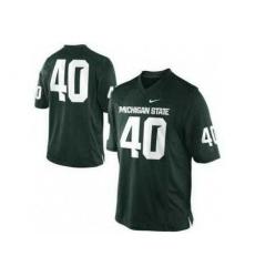 Michigan State Spartans 40 Max Bullough Green College Football NCAA Jerseys