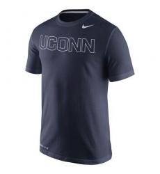 UConn Huskies Nike Performance Travel T-Shirt Navy