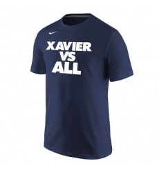 Xavier Musketeers Nike Selection Sunday All T-Shirt Navy