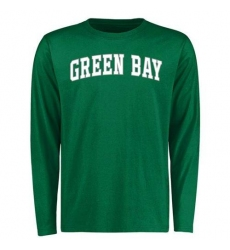 Wisconsin-Green Bay Phoenix Everyday Long Sleeves T-Shirt Green