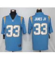 Nike NFL Los Angeles Chargers #33 Derwin James jr Powder Blue 2020 Vapor Limited Jersey
