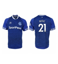 2018-2019 Everton FC home aaa versio 21 Club Soccer Jersey