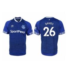 2018-2019 Everton FC home aaa versio 26 Club Soccer Jersey