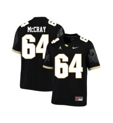 UCF Knights 64 Justin McCray Black College Football Jersey