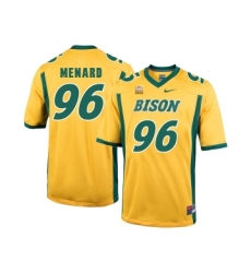 North Dakota State Bison 96 Greg Menard Gold College Football Jersey