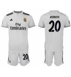 2018-19 Real Madrid 20 ASENSIO Home Soccer Jersey