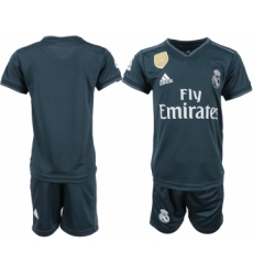 2018-19 Real Madrid Away Youth Soccer Jersey