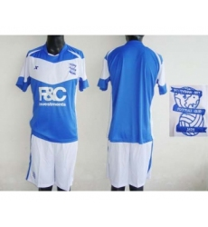 Birmingham City Blank Blue Home Soccer Club Jersey