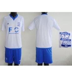 Birmingham City Blank White Away Soccer Club Jersey