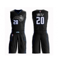 Men's Orlando Magic #20 Markelle Fultz Authentic Black Basketball Suit Jersey - City Edition