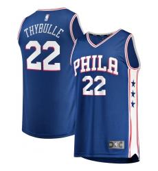 Men's Philadelphia 76ers #22 Matisse Thybulle Fanatics Branded Royal 2020-21 Fast Break Player Jersey