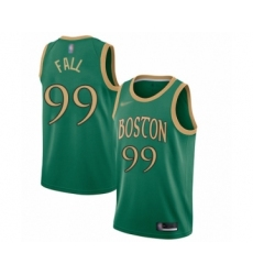 Men's Boston Celtics #99 Tacko Fall Swingman Green Basketball Jersey - 2019 20 City Edition
