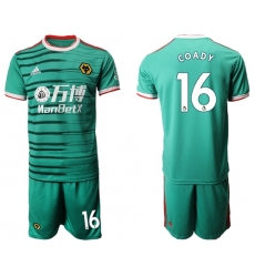 Wolves #16 Coady Third Soccer Club Jersey