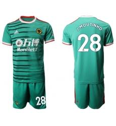 Wolves #28 J.Moutinho Third Soccer Club Jersey