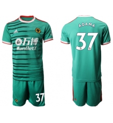 Wolves #37 Adama Third Soccer Club Jersey