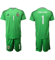Argentina Blank Blue Goalkeeper Soccer Country Jersey1