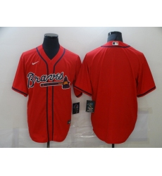 Men's Nike Atlanta Braves Blank Red Jersey