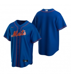 Men's Nike New York Mets Blank Royal Alternate Stitched Baseball Jersey