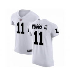 Men Henry Ruggs III #11 Las Vegas Raiders Elite White Vapor Untouchable Jersey