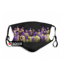NBA Los Angeles Lakers Mask-037