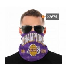 NBA Fashion Headwear Face Scarf Mask-309