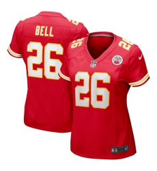 Women's Kansas City Chiefs #26 Le'Veon Bell Nike Red Limited Jersey