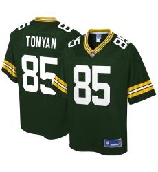 Men's Green Bay Packers #85 Robert Tonyan NFL Pro Line Green Big & Tall Player Jersey