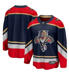Men's Florida Panthers Fanatics Branded Blank Blue 2020-21 Special Edition Breakaway Jersey