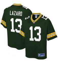 Men's Green Bay Packers #13 Allen Lazard NFL Pro Line Green Team Player Jersey