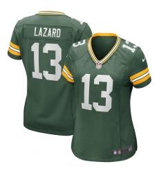 Women's Green Bay Packers #13 Allen Lazard Nike Green Limited Jersey