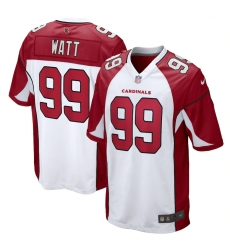 Men's Arizona Cardinals #99 J.J. Watt Nike White Limited Jersey