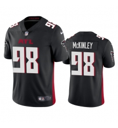 Nike Atlanta Falcons #98 Takkarist Mckinley Men's Black 2020 Vapor Untouchable Limited NFL Jersey