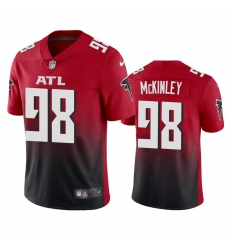 Nike Atlanta Falcons #98 Takkarist Mckinley Men's Red 2nd Alternate 2020 Vapor Untouchable Limited NFL Jersey