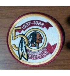 Stitched NFL Washington Redskins 1937-1986 50TH Patch