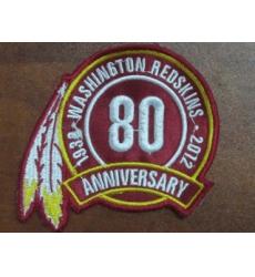 Washington RedSkins 80TH Patch