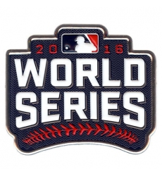 MLB 2016 World Series Patch