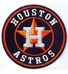 Stitched MLB Houston Astros Team Logo Jersey Sleeve Patch