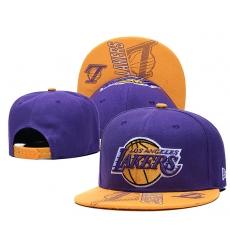 NBA Los Angeles Lakers Hats-011