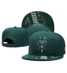 NBA Milwaukee Bucks Hats 002