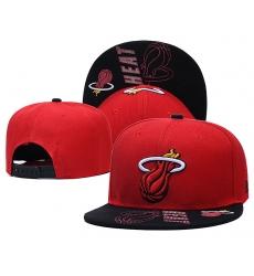 NBA Miami Heat Hats 002