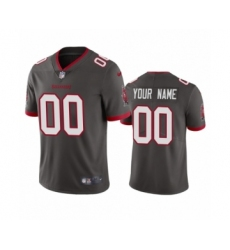 Tampa Bay Buccaneers Custom Pewter 2020 Vapor Limited Jersey